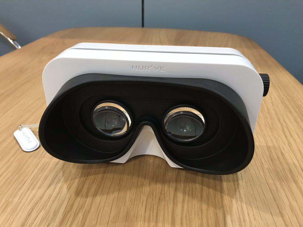 VR内見システムで使用するゴーグル