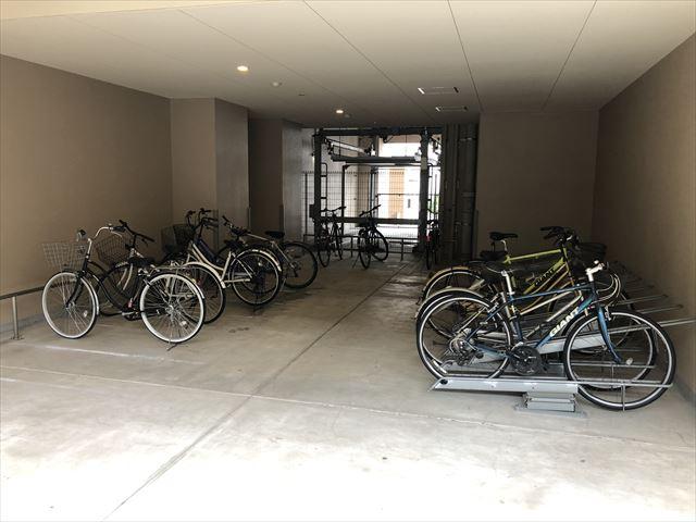 整頓された駐輪場:管理状況から見る失敗しないお部屋探し