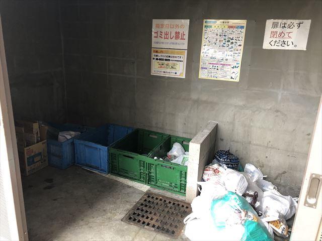 分別整理されたゴミ置き場:管理状況から見る失敗しないお部屋探し